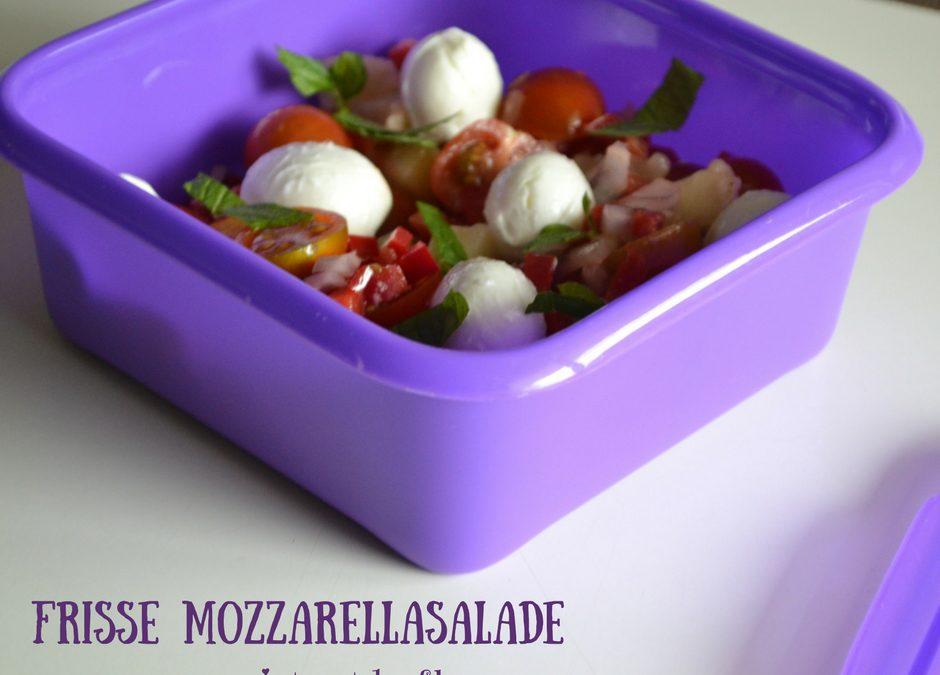Frisse mozzarellasalade